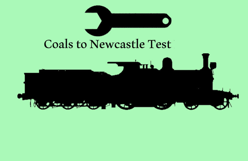 Coals to Newcastle | Physics | Testing
